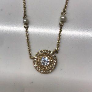 Ralph Lauren NEW Gold & Pearl Necklace